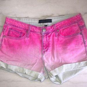 JUICY COUTURE || jean shorts ombré